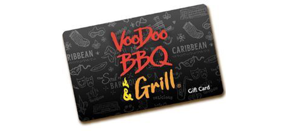 VooDoo BBQ Gift Card